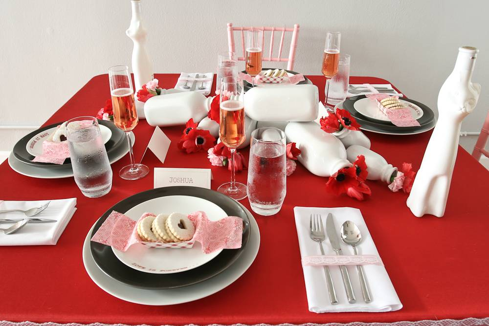Decoration Table Saint Valentin